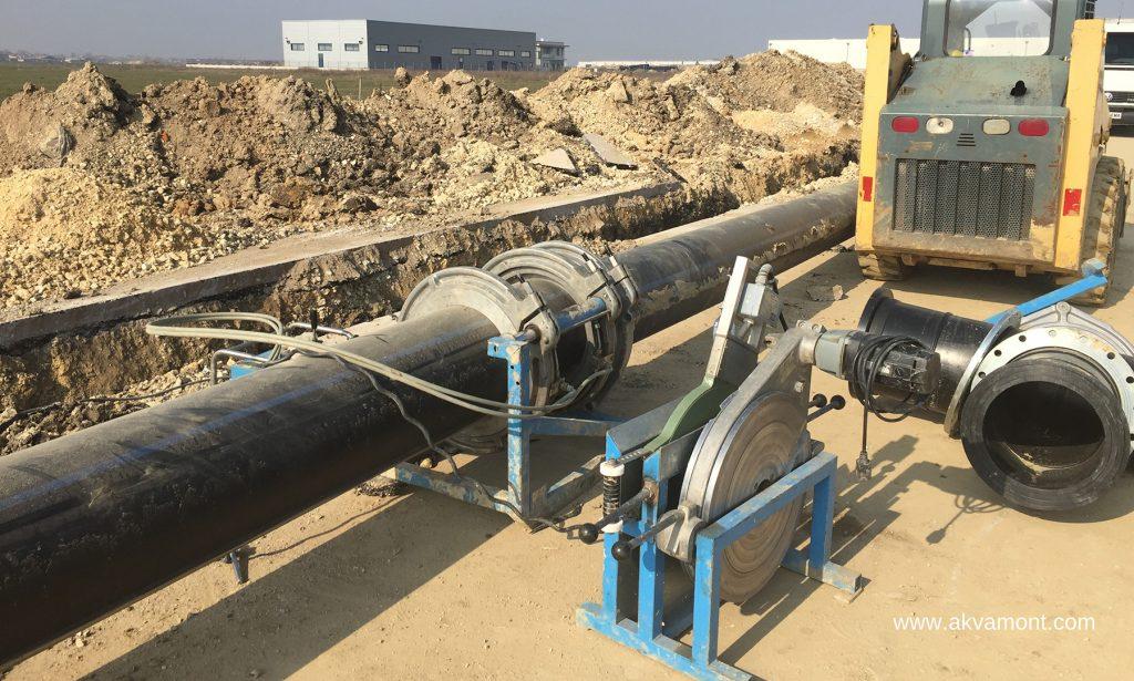 Водопроводи в промишлени зони и населени места